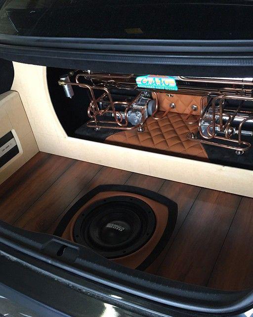 Car sound center subwoofer