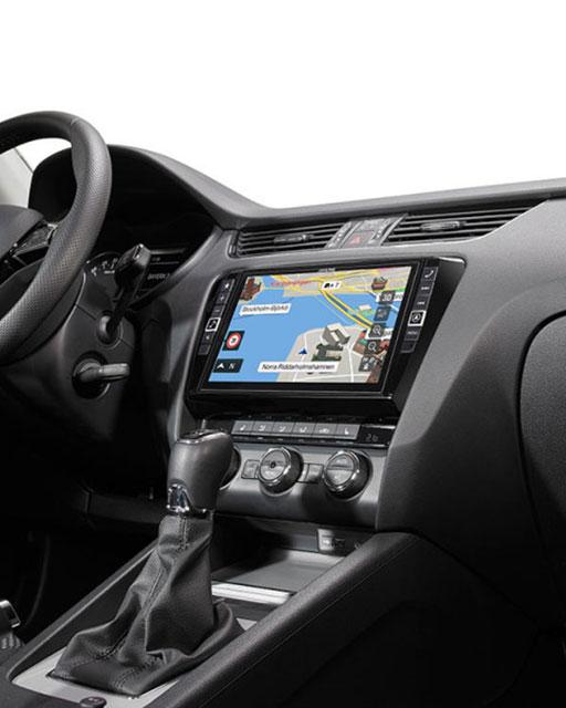 car sound center navigatie